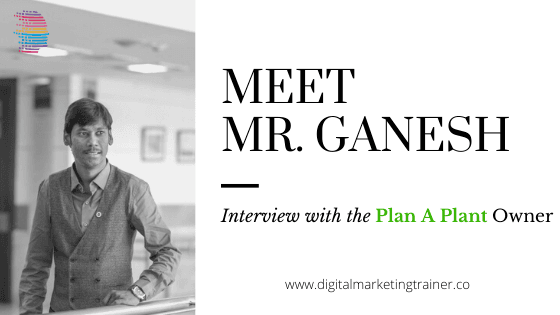 Plan a Plant Owner Ganesh